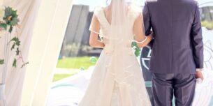 婚活中、憧れの結婚式のイメージ写真